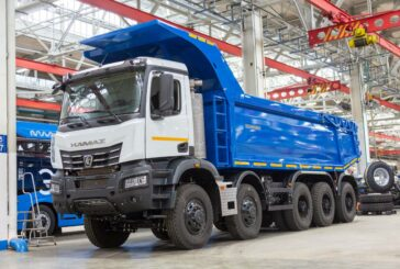 Russian KamAZ mining dump trucks equipped with Allison automatic transmissions