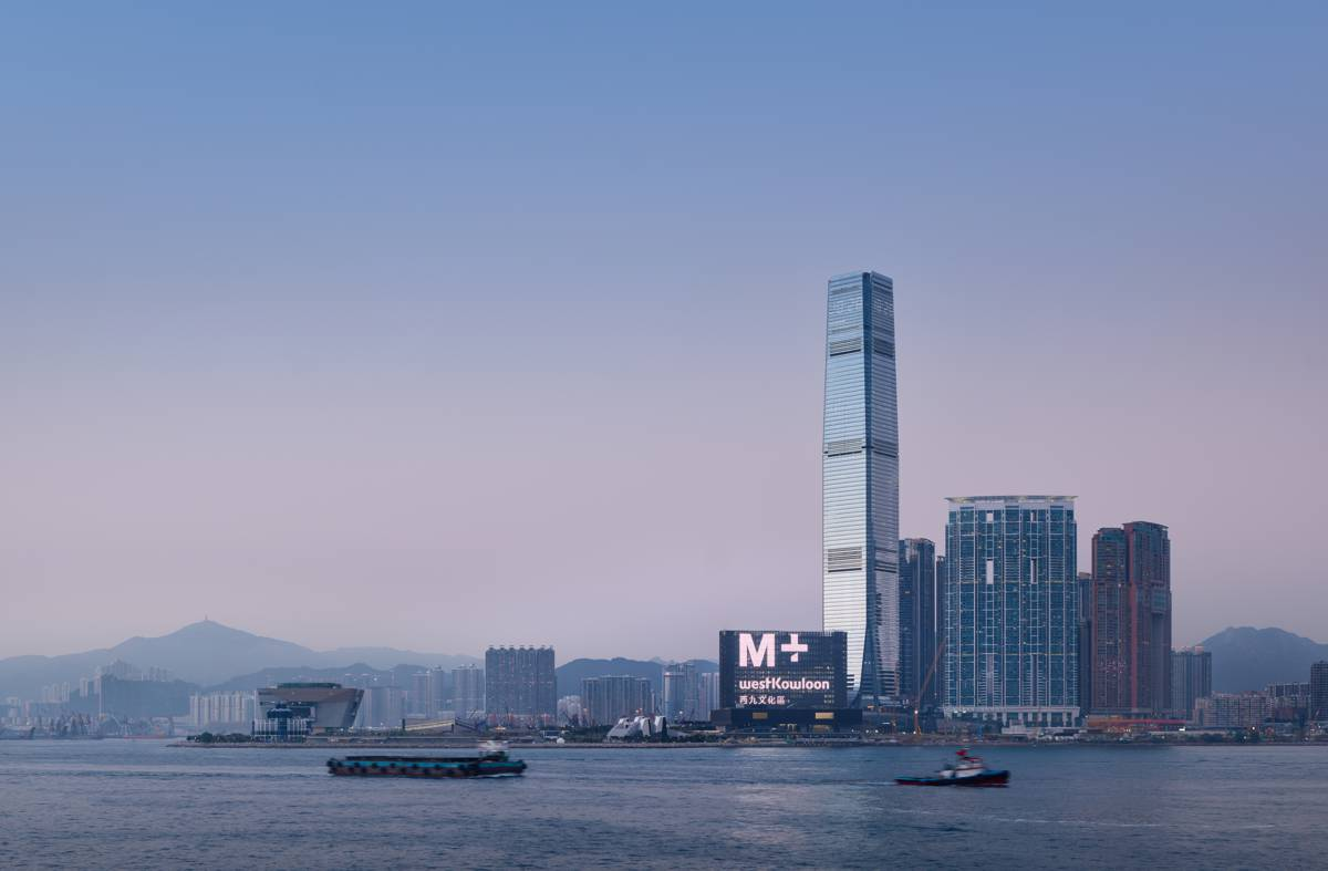 Construction of M+ museum in Hong Kong completed
