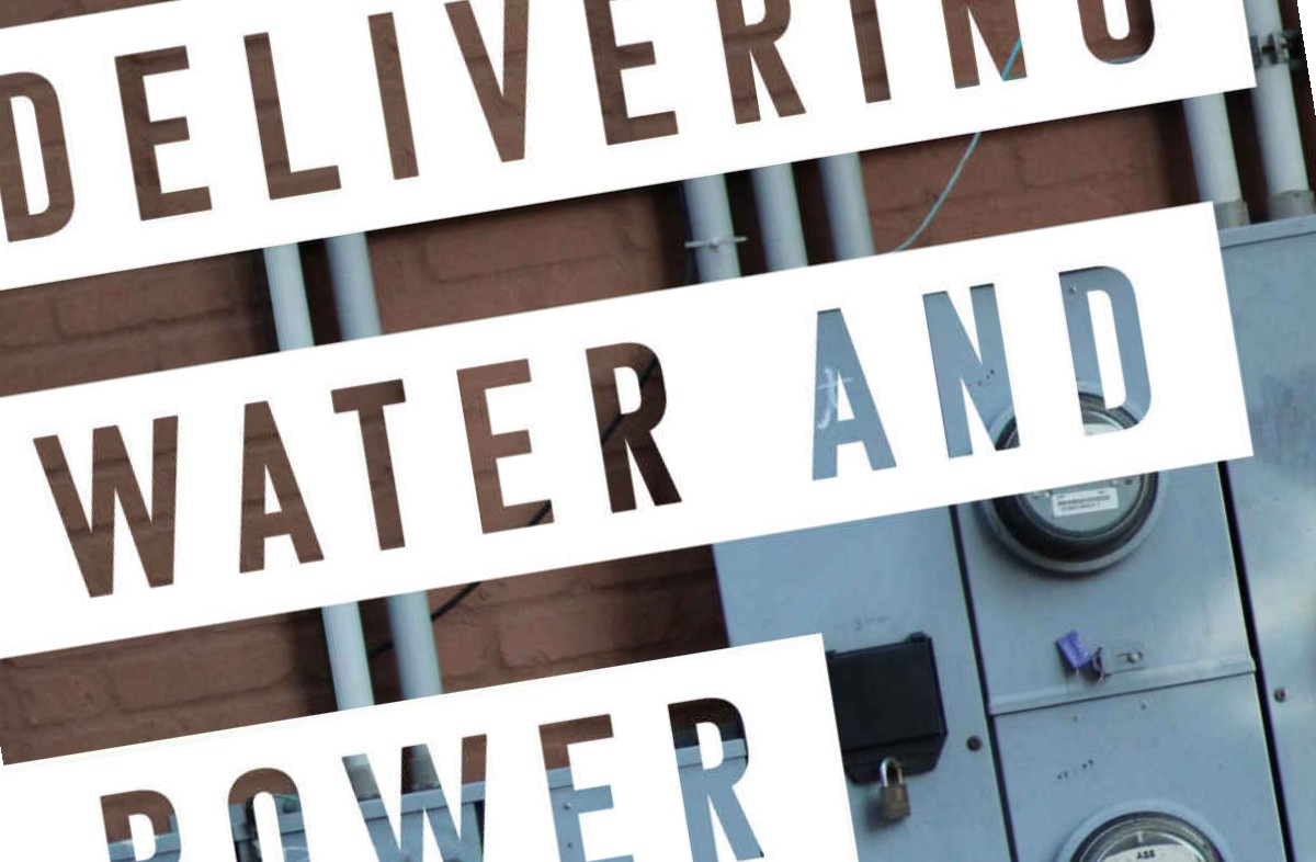 Esri's new book introduces Water and Power Utilities to GIS Spatial Analytics
