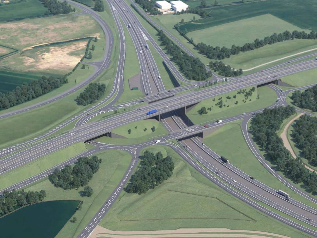Highways England awards Skanska £507m A428 Black Cat to Caxton Gibbet project