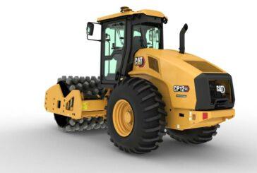 Cat new GC Series single drum vibratory soil compactors simplify operations