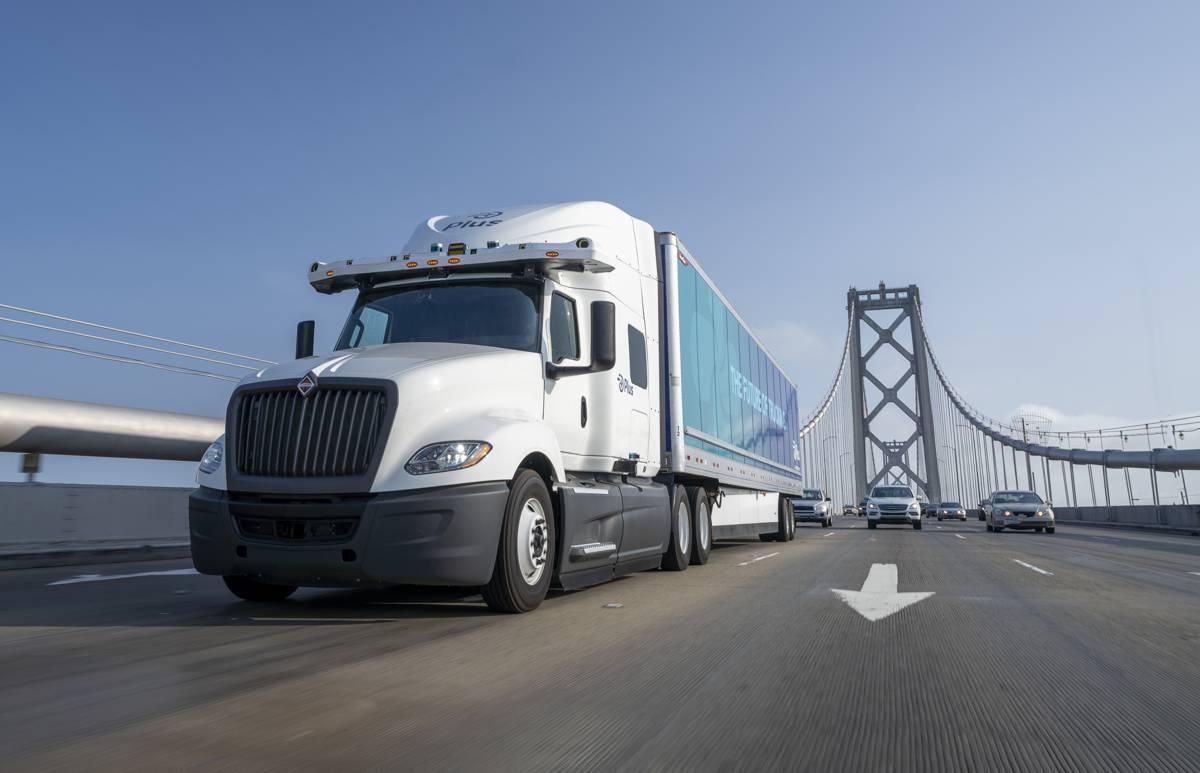 NVIDIA DRIVE Orin driving the next-generation of Plus autonomous truck technology