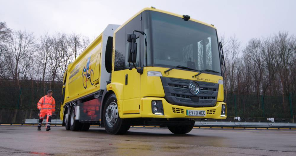 Biffa launching largest Electric Waste Vehicle Fleet in Manchester