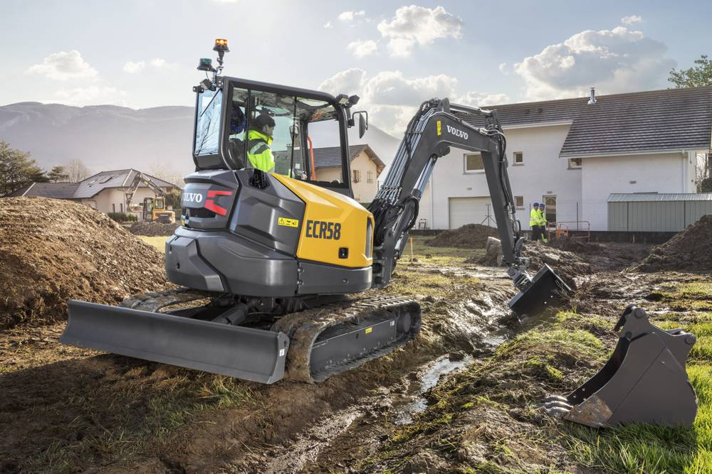 VolvoCE North America introduces two new short-swing Compact Excavators