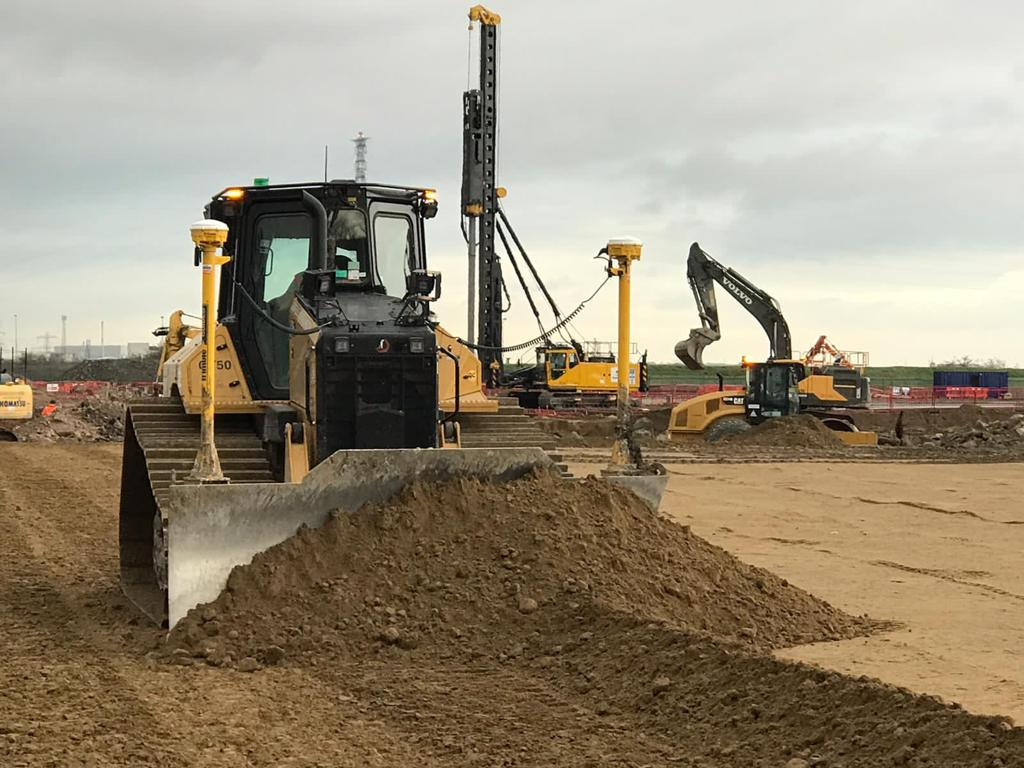 The new Cat D5 Dozer sets the pace in Wales