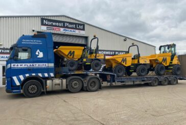 Norwest Plant agrees multi-million pound site dumper deal with Mecalac