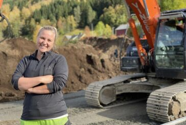 Hitachi supports women in the Excavator Cab in Norway