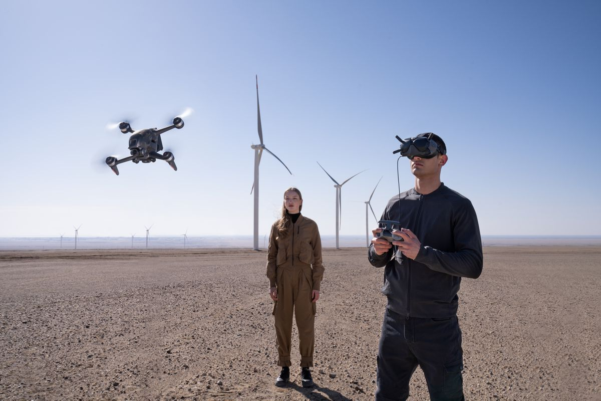 DJI reinvents the Drone Flying Experience with DJI FPV