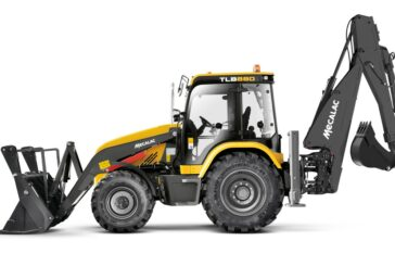 Mecalac unveils the all-new TLB880 Backhoe Loader