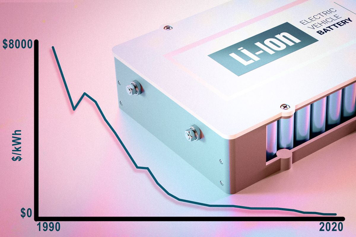 MIT study finds dramatic price drop in lithium-ion battery costs