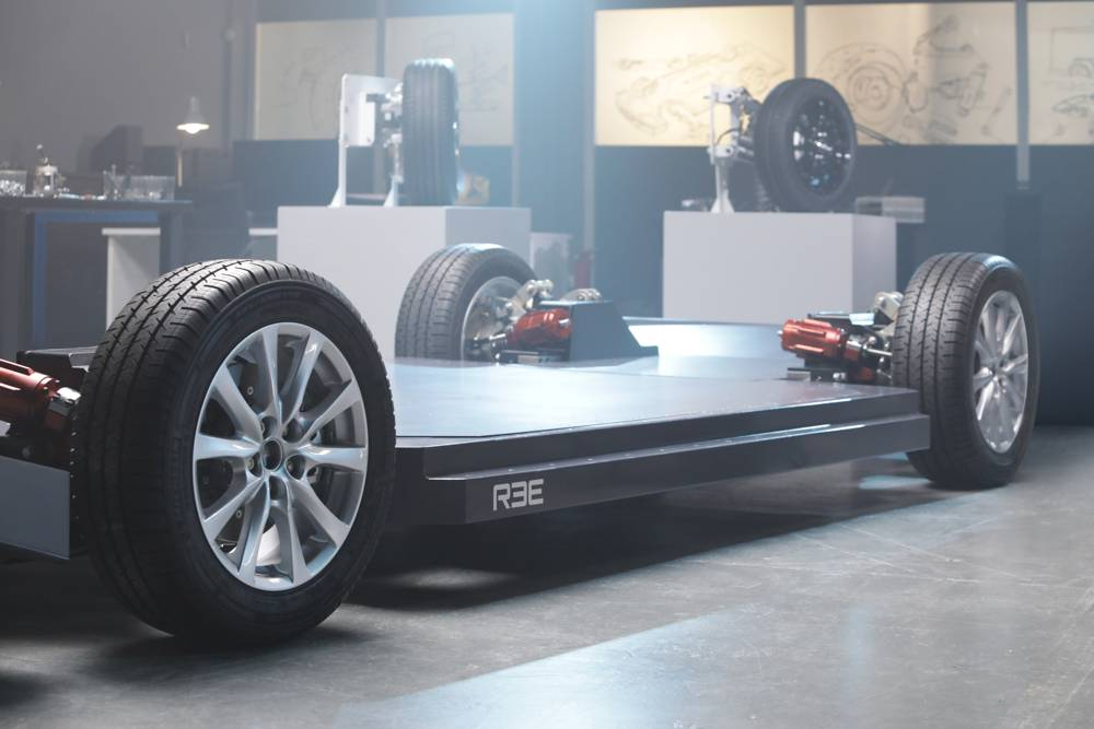REE unveils REEcorners and EV Platforms designed for Commercial Electric Vehicles