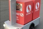 Albertsons and Tortoise launch remote-controlled delivery cart trials in California