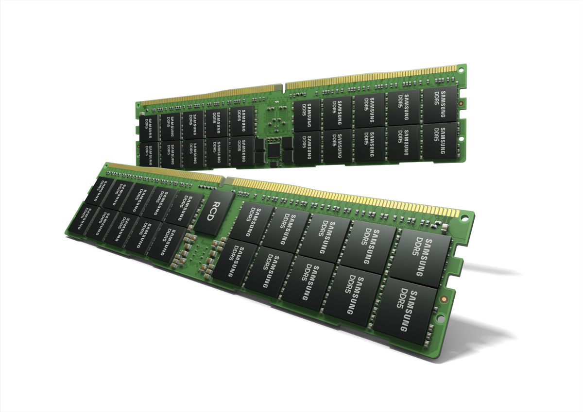 Samsung develops 512GB capacity DDR5 Memory for advanced computing applications