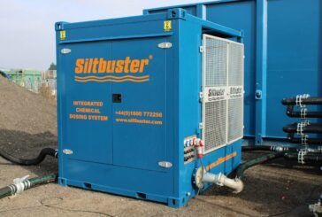 Siltbuster launches Integrated Chemical Dosing System for water treatment