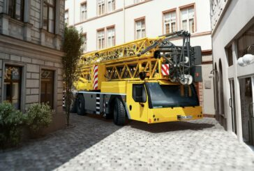 Liebherr rolls out the new MK 73-3.1 mobile construction compact taxi crane