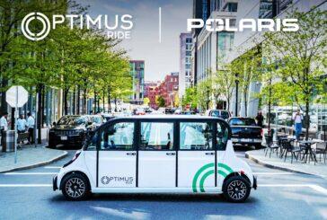 Optimus Ride and Polaris partner for Autonomous GEM Electric Vehicles