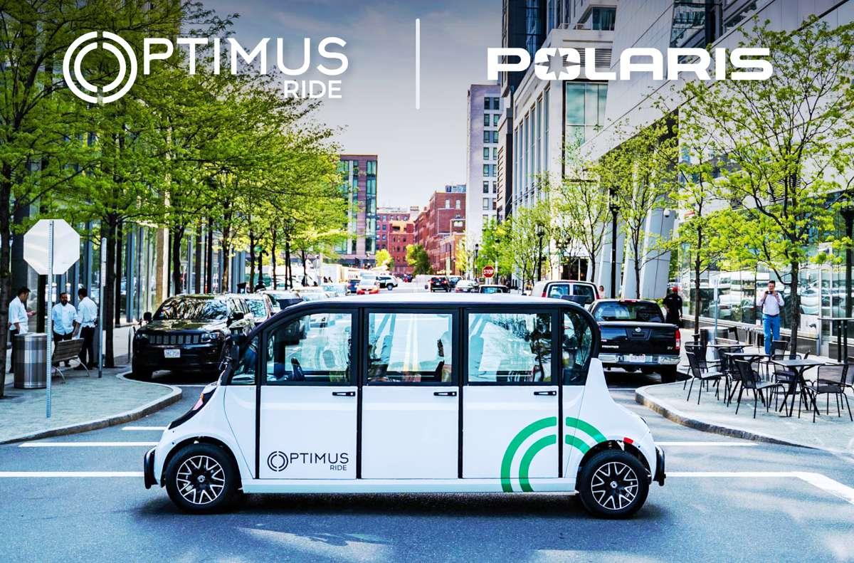 Optimus Ride and Polaris partner for Autonomous GEM Electric Vehicles