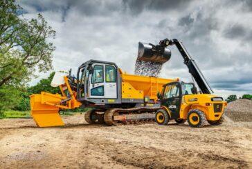 JCB updates Loadall Telehandlers for the European construction market
