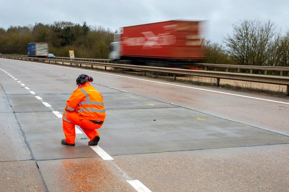 Highways England unveils initiative to revitalise ageing concrete roads