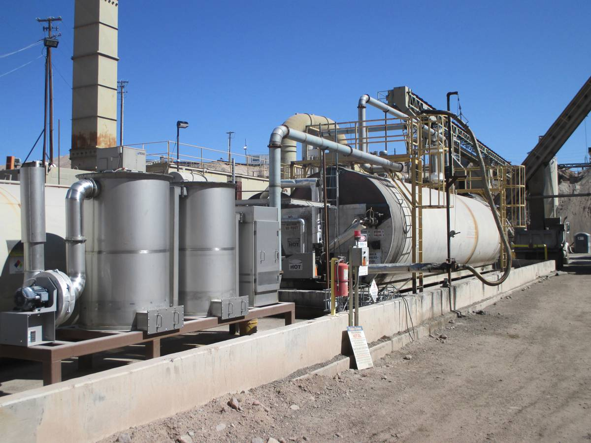 Eliminate Asphalt Plant VOCs and odours with Blue Smoke Control