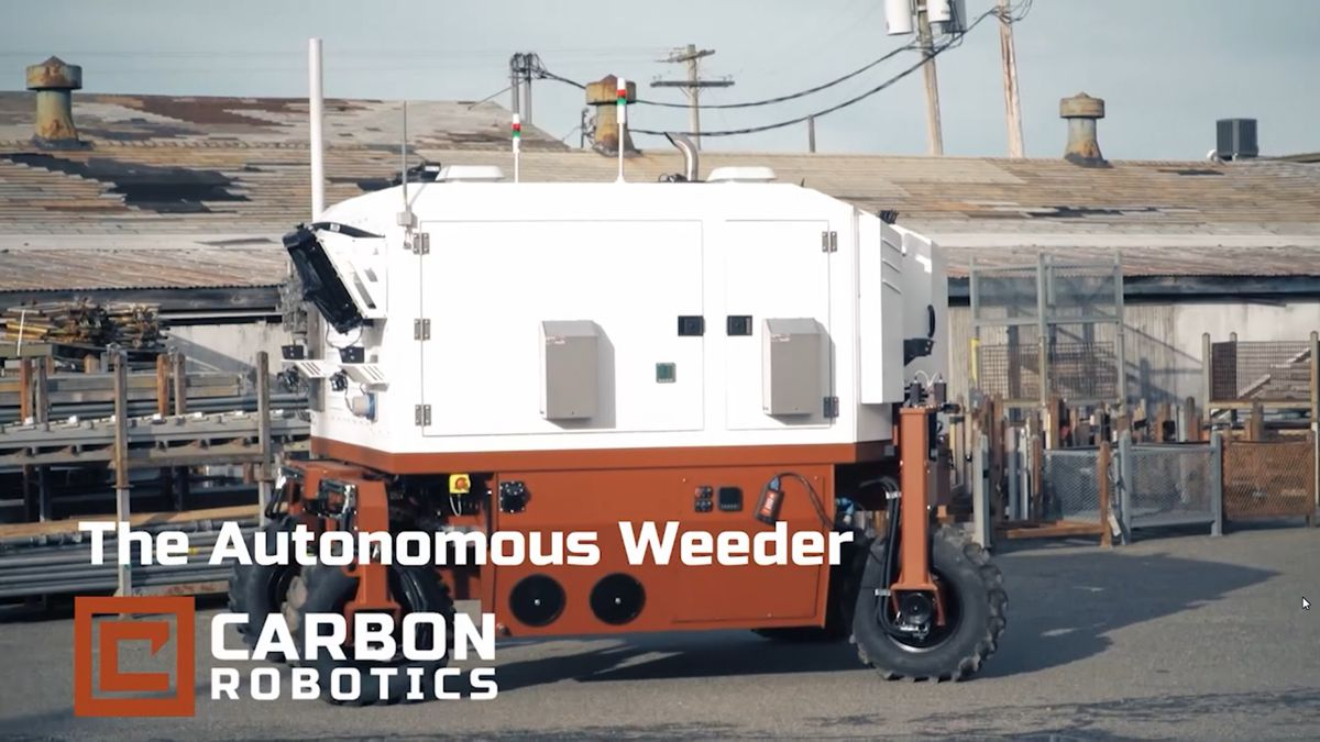 Carbon Robotics Autonomous Weeders set to disrupt Farming