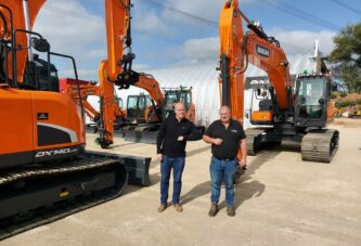 DCV Engineering expands with a new Doosan Excavator fleet