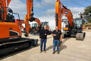 DCV Engineering expands with a new Doosan Excavator fleet