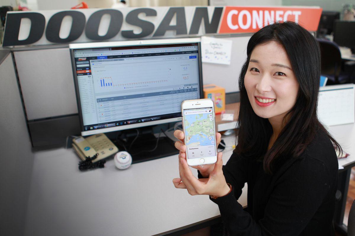 Doosan launches DoosanCONNECT telematics mobile app