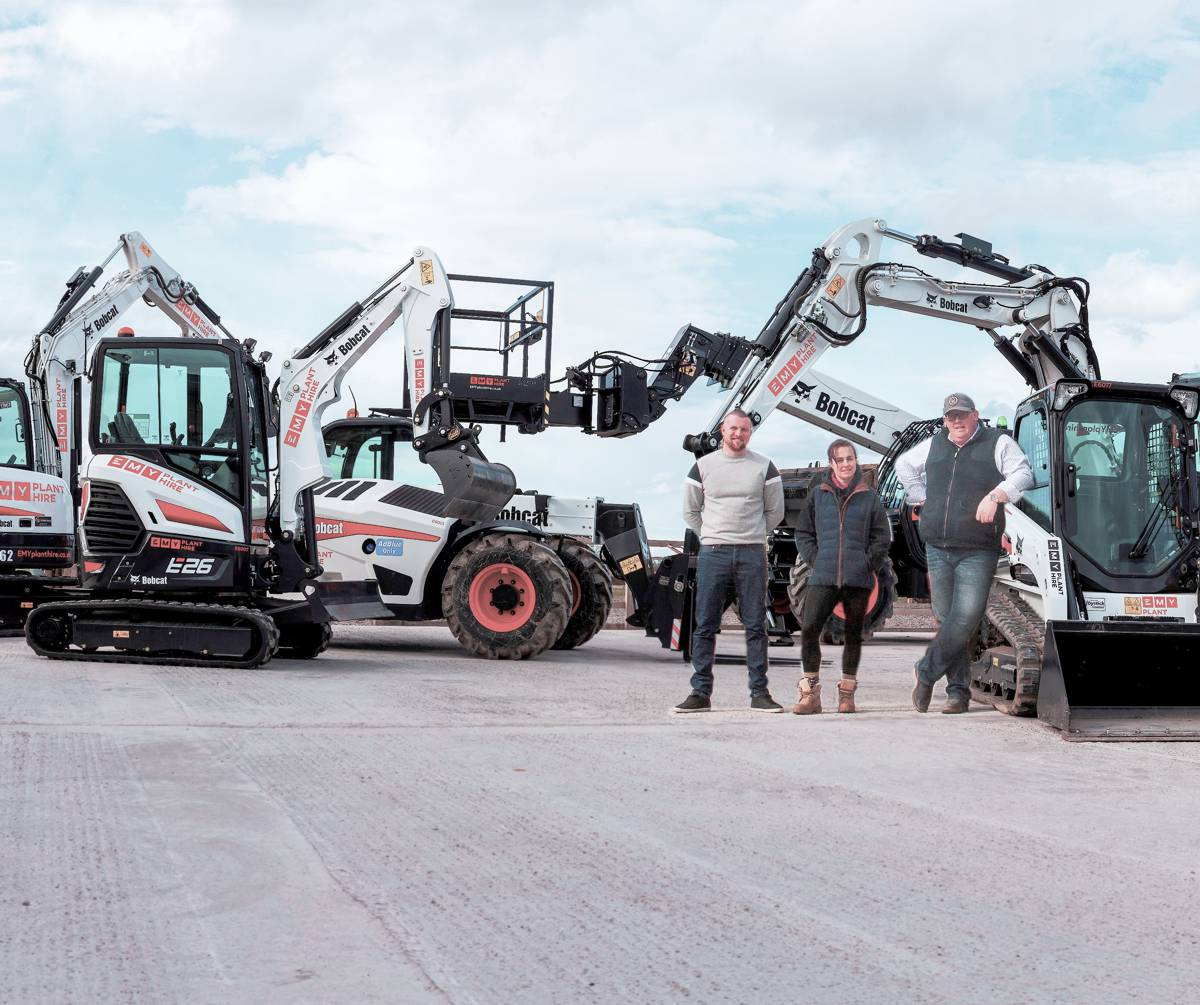 North Wales Plant Rental start-up kicks-off with 20 new Bobcats