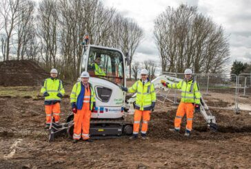 Eurovia Contracting goes greener with UK's first electric Volvo mini-excavator