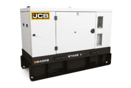 JCB launches Rental Series Generator with EU Stage V power