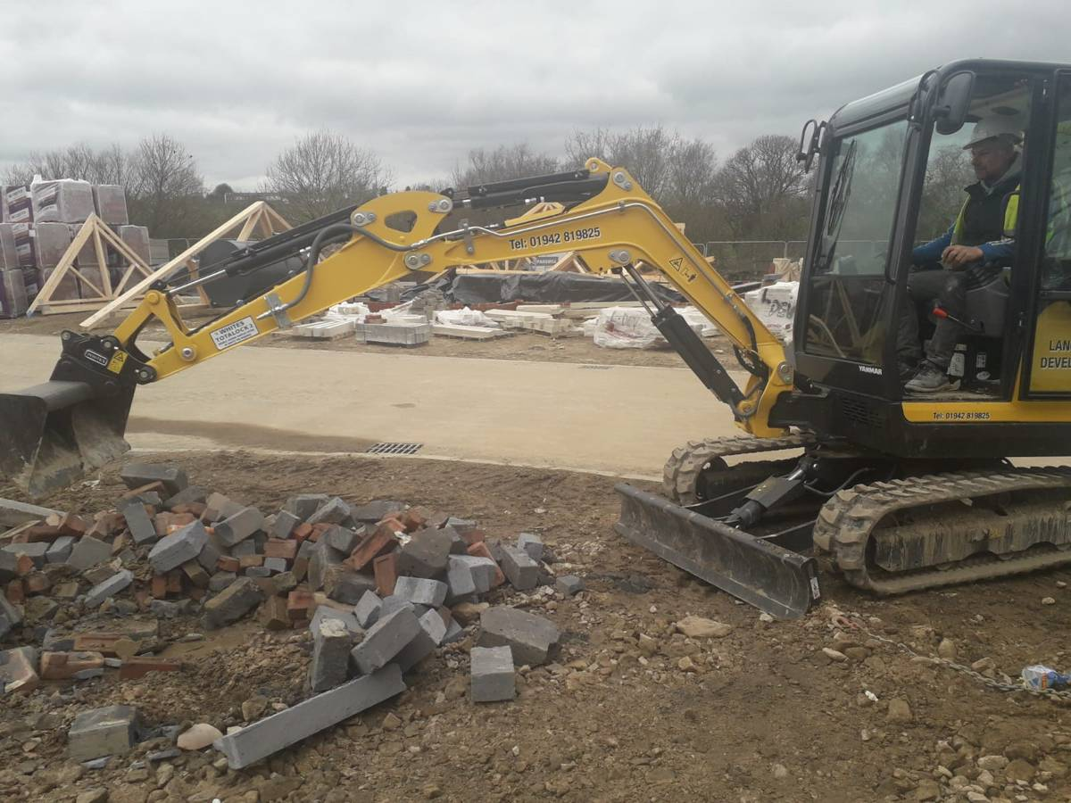 Lancashire Developments puts Yanmar mini-excavator to the test