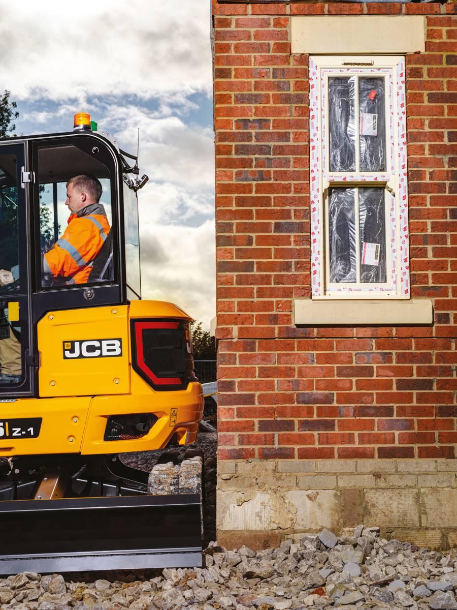 JCB introduces new 3.5 tonne Compact Excavator