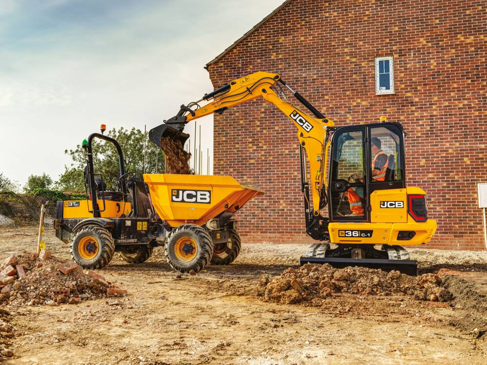 JCB introduces new 3.5 tonne Compact Excavator