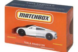Mattel unveils CarbonNeutral Matchbox Tesla Roadster die-cast vehicle