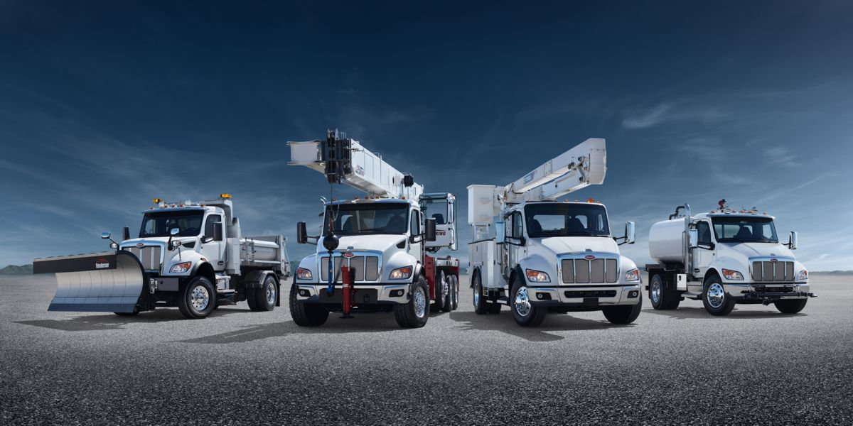 Peterbilt unveils all-new truck models