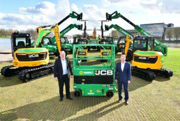 JCB wins huge £65 million order for 2,100 machines from Sunbelt Rentals
