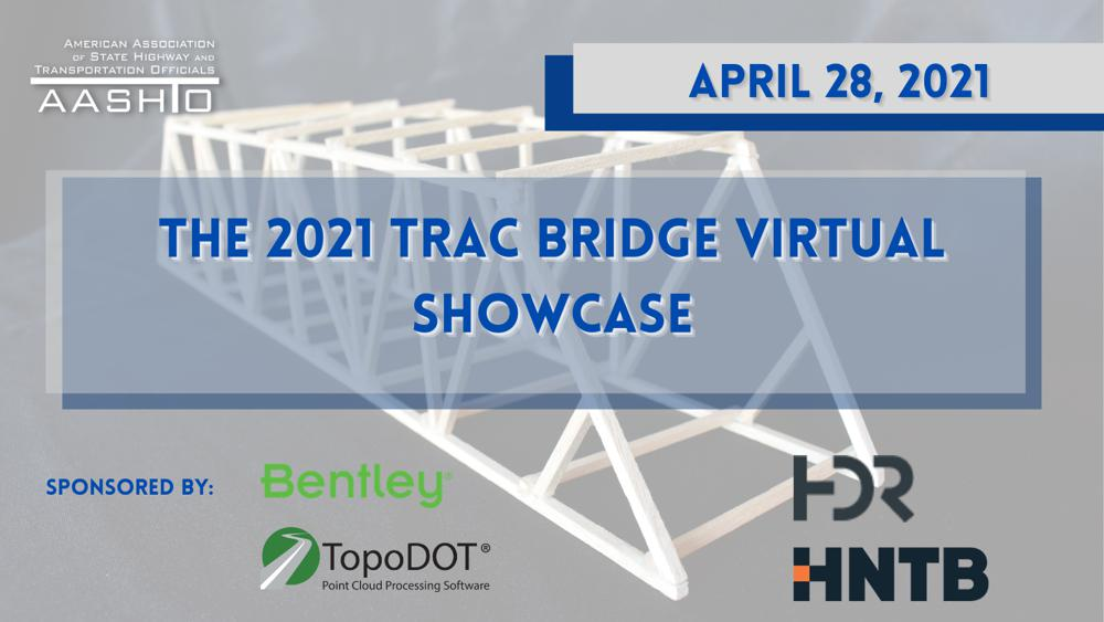 Bentley Systems and AASHTO host student TRAC Bridge virtual event