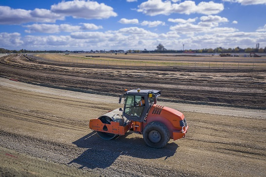 Trimble Earthworks Grade Control platform upgrade includes Soil Compactors