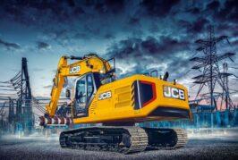 JCB crawler excavators 140X, 150X and 220X updated with JCB DieselMax 448 engines