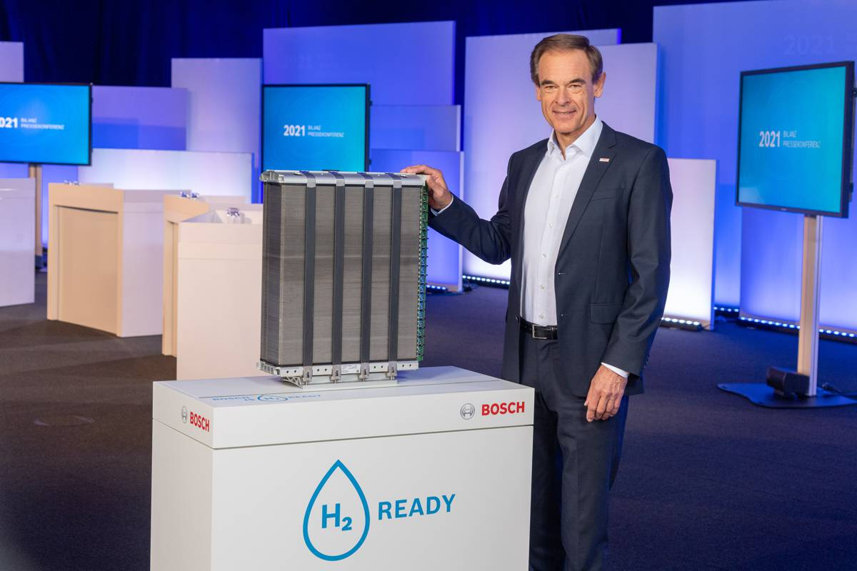 Bosch looks to the future with AIoT, electrification and green hydrogen