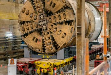Mammoet completes transportation of Tunnel Boring Machines in Melbourne