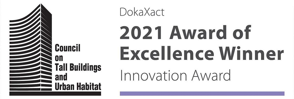 Doka has been awarded the Innovation Award of Excellence in the Tall Building category by the CTBUH 2021 Awards Programme for its DokaXact system.