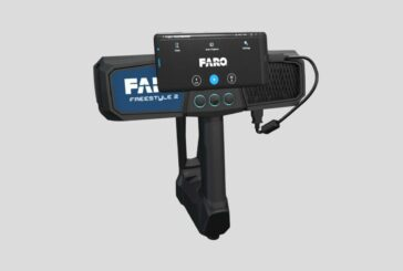 FARO introduces Freestyle 2 Handheld Scanner for 3D data capture