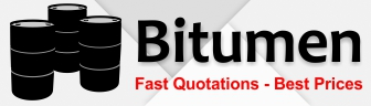 Quotations for bitumen supplied worldwide