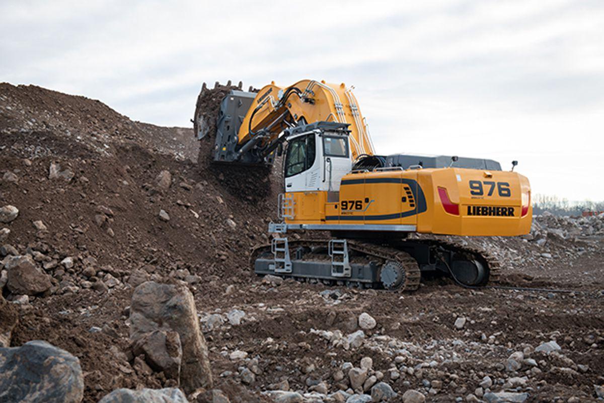 Liebherr upgrades two crawler excavators with new electric models