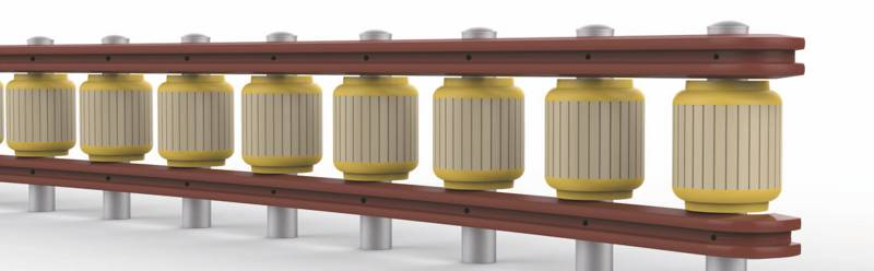 Resin Highway Guardrail