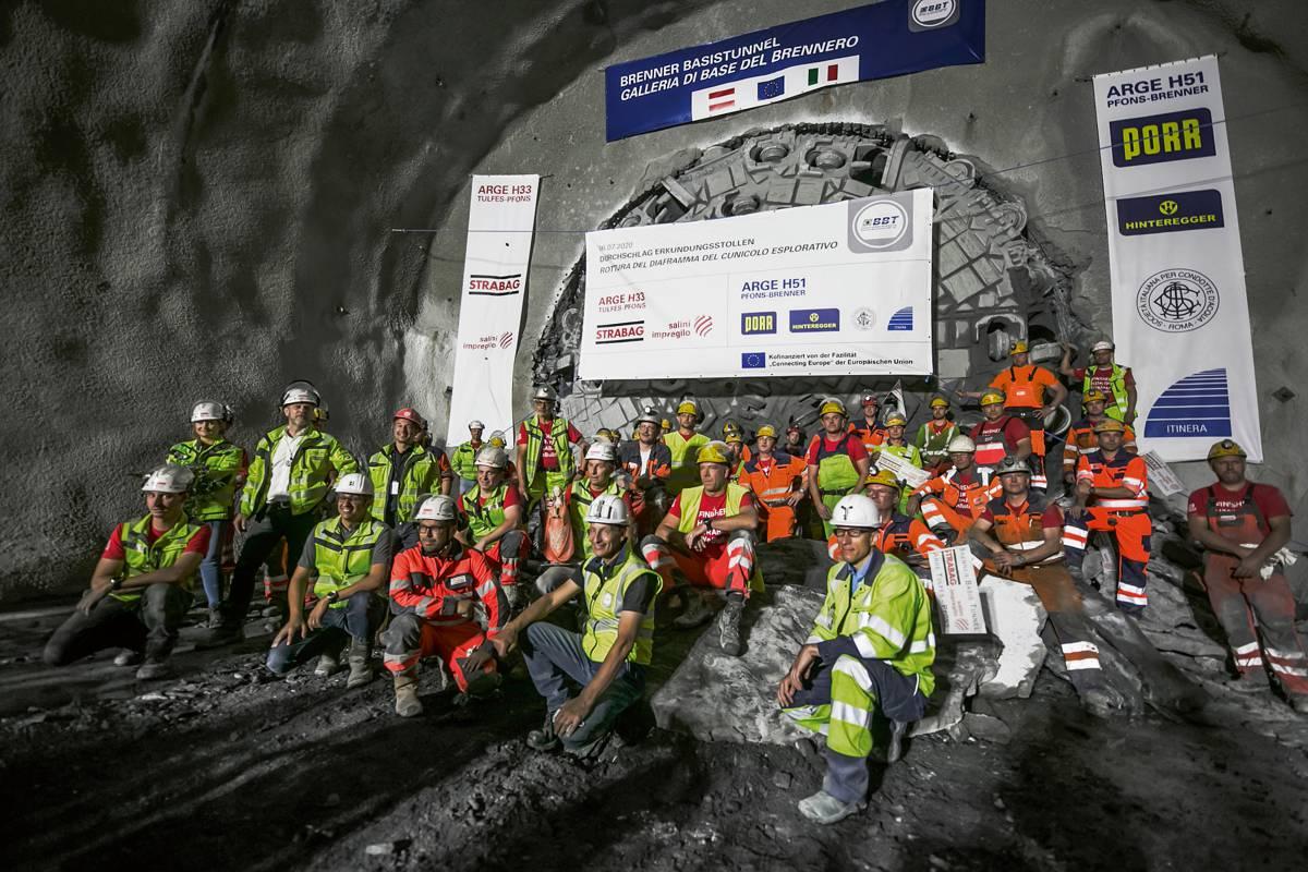 HERRENKNECHT pushing forwardat the Brenner Base Tunnel