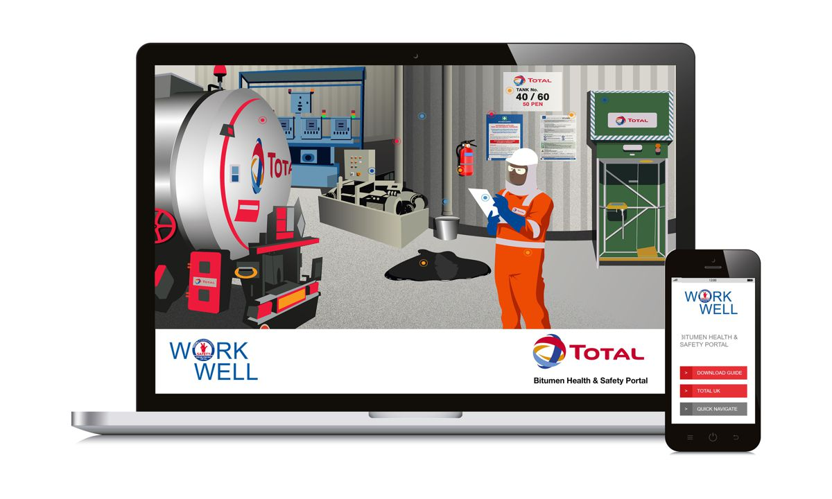 Total UK launches Work Well safety training portal for the Bitumen Industry
