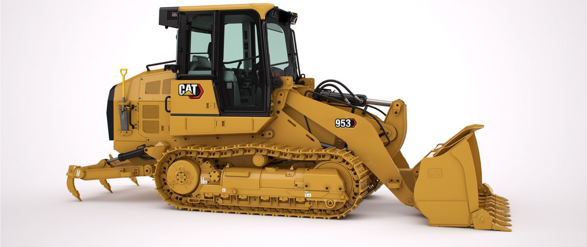The new CAT 953 Track Loader does it all